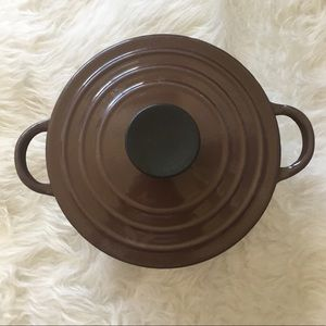 LE CREUSET Vintage Brown Cook Pot with Lid